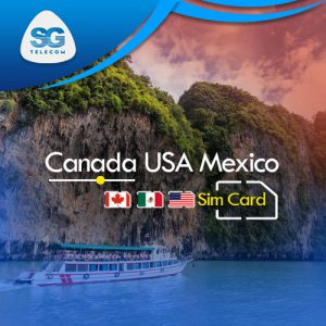 Canada USA Mexico SIM Cards