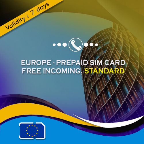 Basic Europe sim card