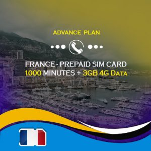 France sim card plan 3gb data