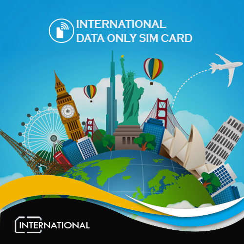 International Data Only Sim Card
