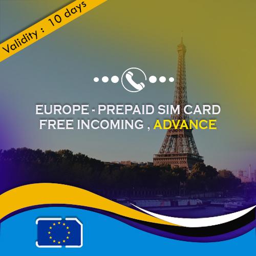 Advance Europe sim card