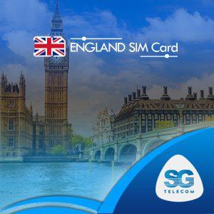 England SIM Cards