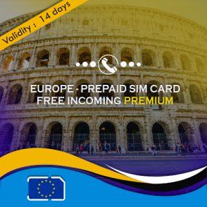 Europe sim card premium