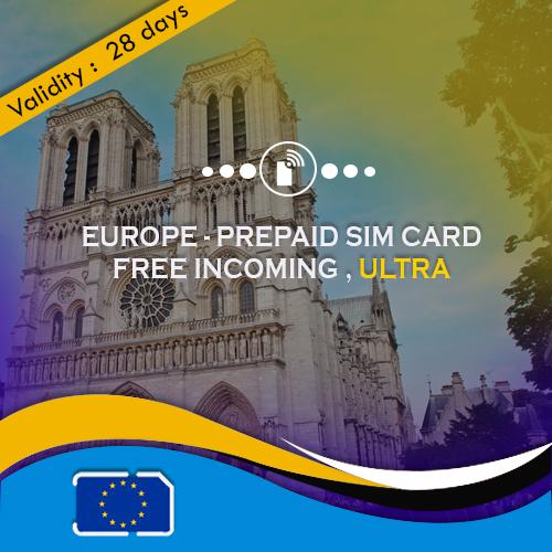 Europe sim card ultra