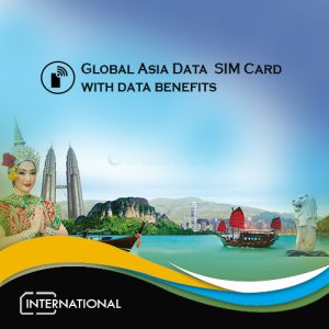 Global Asia data sim card